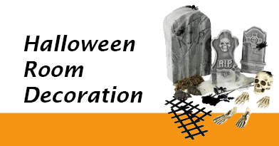 Turn your home into a Halloween House of Horror with our huge range of Halloween Room Decorations