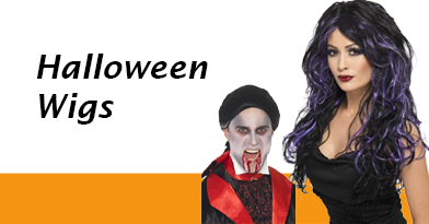 Complete your costume with the perfect wig, from long wigs to short wigs and in between we have THE range of Halloween Wigs to choose from.