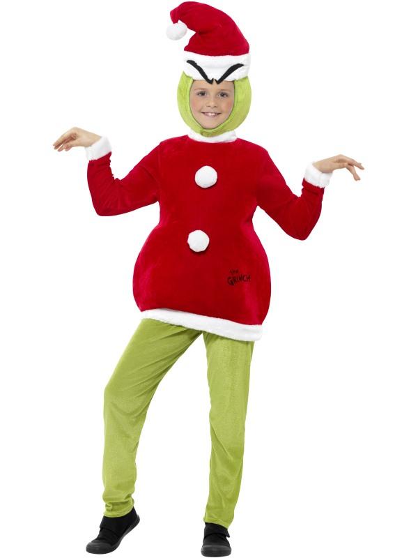 sc 1 st  Wonderland Party & The Grinch Boyu0027s Fancy Dress Costume