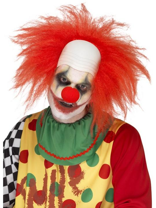 Clown Wig, Deluxe Thumbnail 1