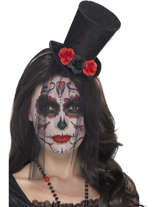 Day of the Dead Mini Top Hat Thumbnail 1