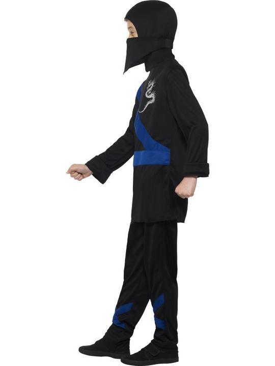 Boy's Ninja Assassin Fancy Dress Costume Thumbnail 1