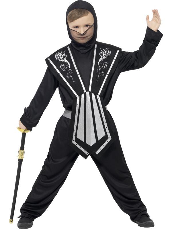 Boy's Ninja Fancy Dress Costume
