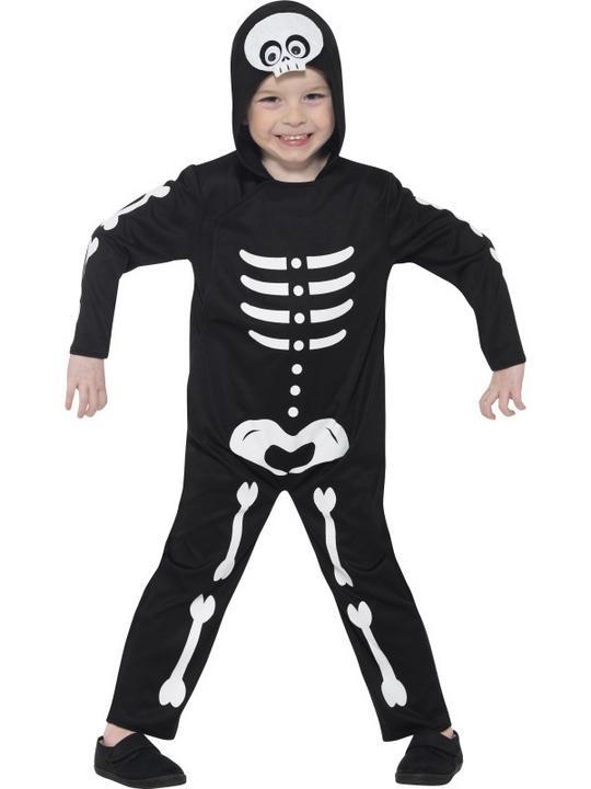 Boy's Skeleton Toddler Fancy Dress Costume Thumbnail 2