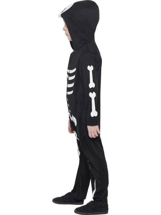 Boy's Skeleton Toddler Fancy Dress Costume Thumbnail 4