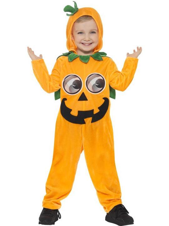 Kids Pumpkin Toddler Fancy Dress Costume Thumbnail 1