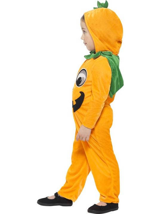 Kids Pumpkin Toddler Fancy Dress Costume Thumbnail 2