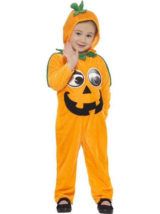 Kids Pumpkin Toddler Fancy Dress Costume Thumbnail 3