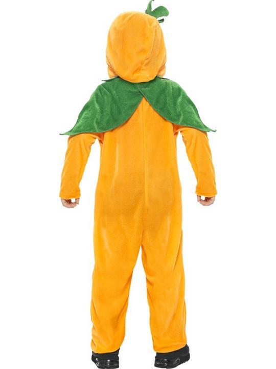 Kids Pumpkin Toddler Fancy Dress Costume Thumbnail 5