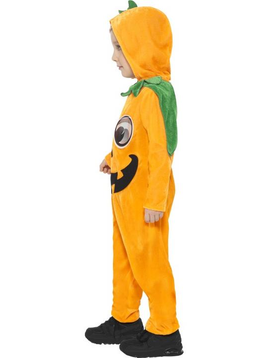 Kids Pumpkin Toddler Fancy Dress Costume Thumbnail 6