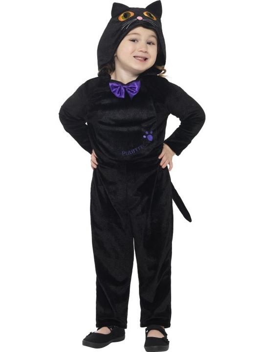Cat Toddler Girl's Fancy Dress Costume Thumbnail 1