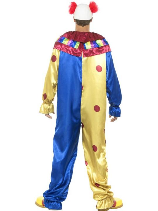 Goosebumps Clown Costume Men's Fancy Dress Costume Thumbnail 2