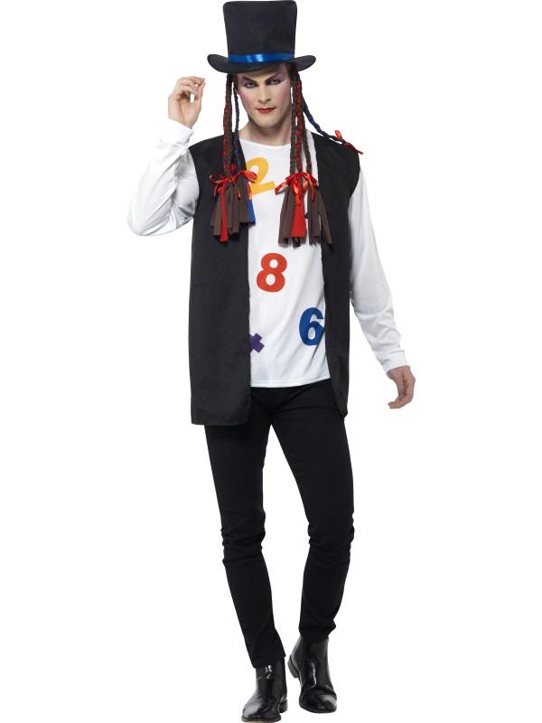 sc 1 st  Wonderland Party & Menu0027s 80u0027s Pop Star Fancy Dress Costume