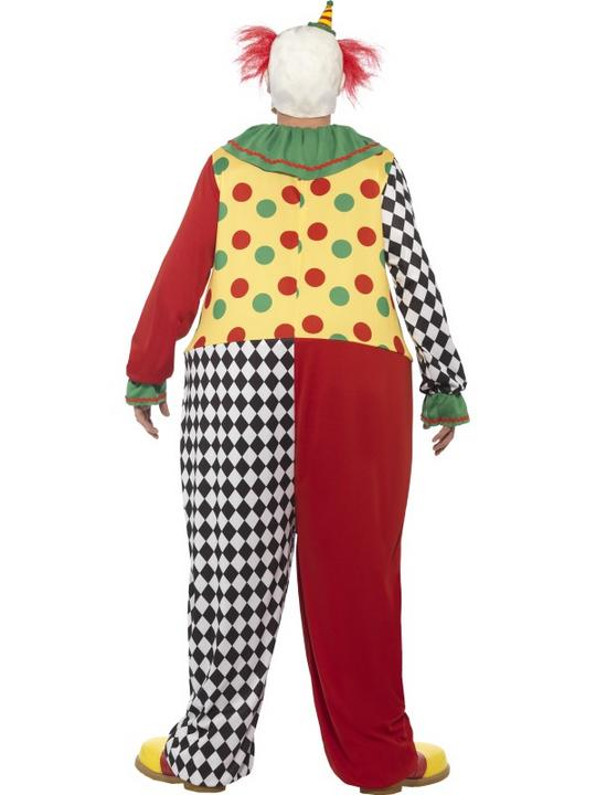 Men's Sinister Clown Fancy Dress Costume Thumbnail 2