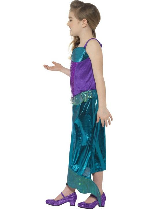 Girl's Magical Mermaid Fancy Dress Costume Thumbnail 3