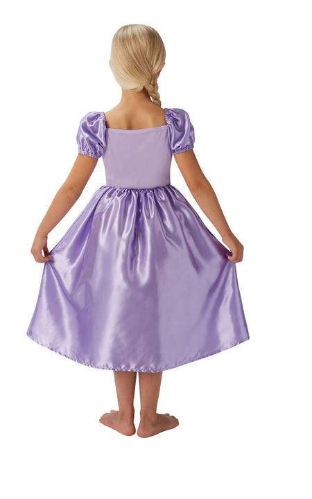 Girl's Disney Fairytale Rapunzel Fancy Dress Costume Thumbnail 2