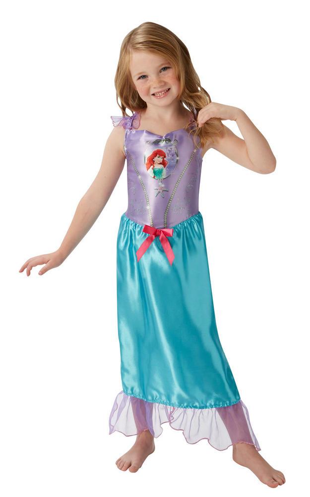 Girl's Disney Fairytale Ariel Fancy Dress Costume