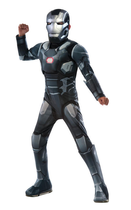 Boy's Deluxe War Machine Fancy Dress Costume Thumbnail 1