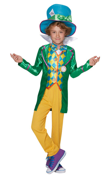 Mad Hatter Boy Fancy Dress Costume Thumbnail 1