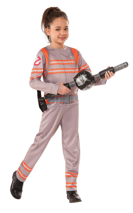 Girl's Ghostbusters Fancy Dress Costume Thumbnail 1