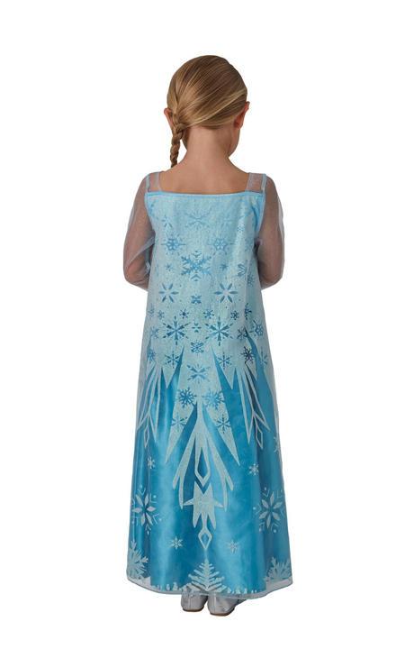 Classic Elsa Girl's Fancy Dress Costume Thumbnail 2