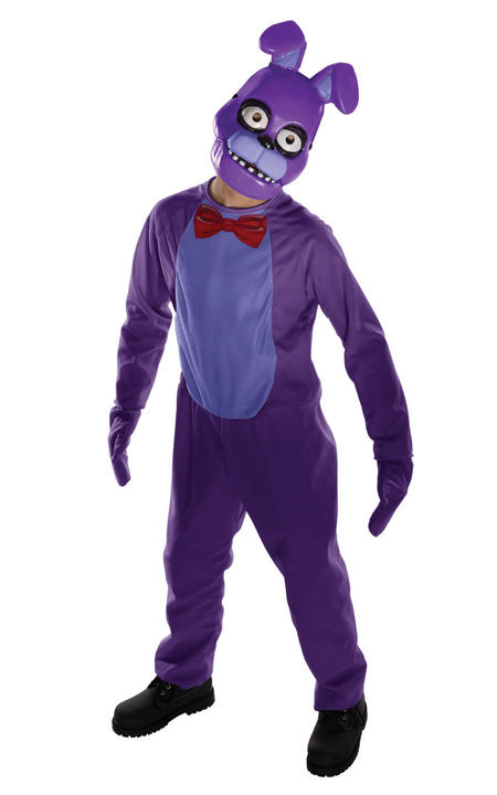Five Nights at Freddys Bonnie Fancy Dress Costume Thumbnail 1