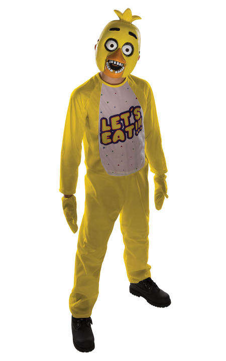 Five Nights at Freddy's Chica Fancy Dress Costume Thumbnail 1