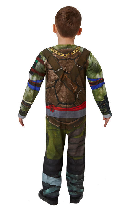 Boy's Deluxe Movie TMNT Teenage Mutant Ninja Turtles Fancy Dress Costume Thumbnail 2