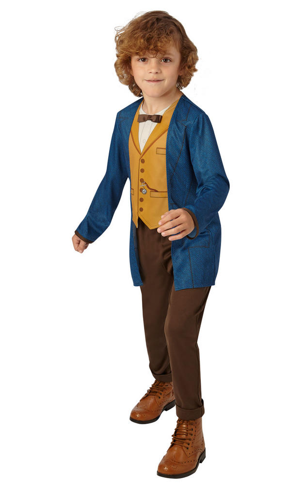 Newt Scamander Boy's Fancy Dress Costume
