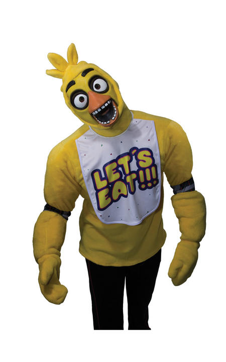 Adult Five Nights at Freddy's Chica Fancy Dress Costume Thumbnail 1