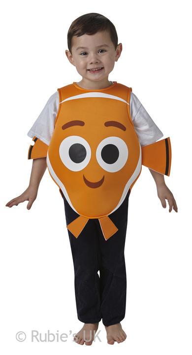 Finding Dori- Nemo Tabard Fancy Dress Costume Thumbnail 1