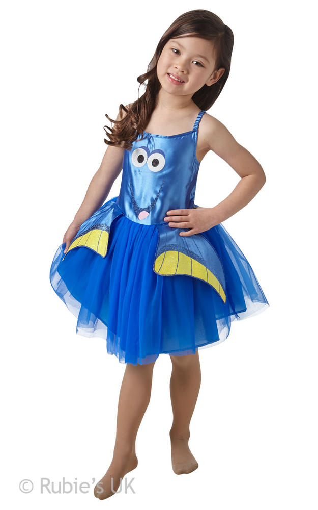 Girl's Dory Tutu Classic Fancy Dress Costume