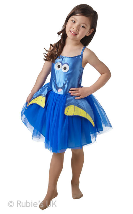 Girl's Dory Tutu Classic Fancy Dress Costume Thumbnail 1