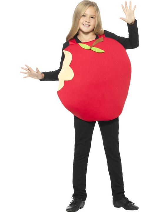 Unisex Red Apple Fancy Dress Costume Thumbnail 2