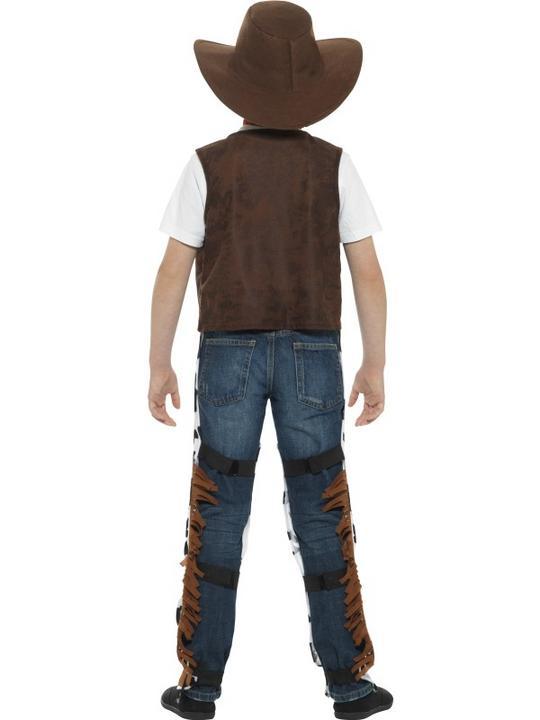 Boy's Texan Cowboy Fancy Dress Costume Thumbnail 2