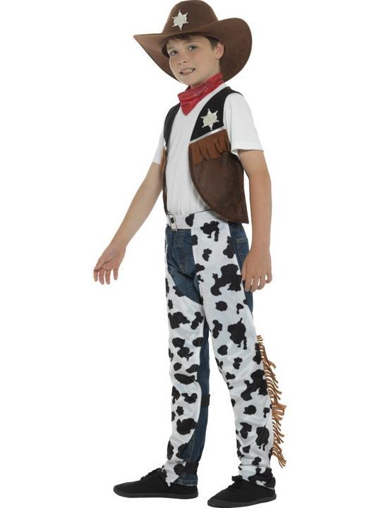 Boy's Texan Cowboy Fancy Dress Costume Thumbnail 3