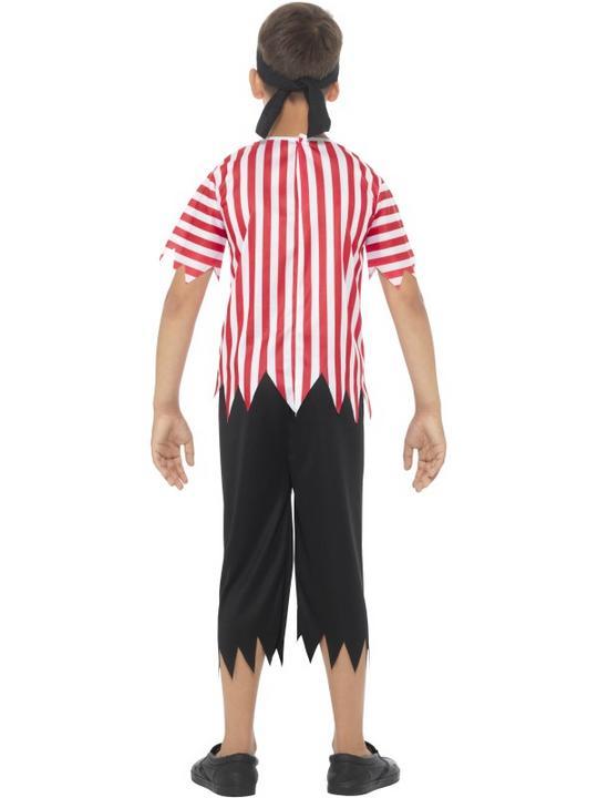 Boy's Jolly Pirate Fancy Dress  Costume Thumbnail 2
