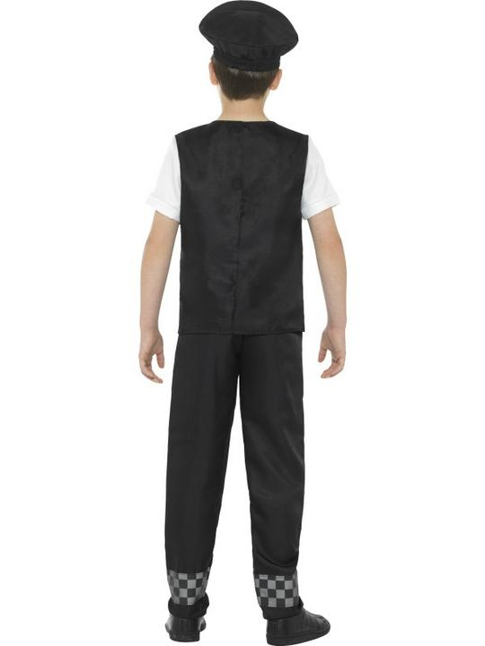 Boy's Cop Fancy Dress Costume Thumbnail 2