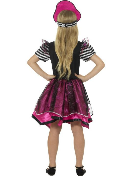 Girl's Perfect Pirate Fancy Dress Costume Thumbnail 2