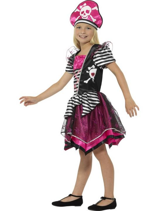 Girl's Perfect Pirate Fancy Dress Costume Thumbnail 3