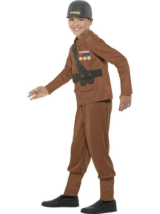 Boys Horrible Histories Soldier Fancy Dress Costume Thumbnail 2