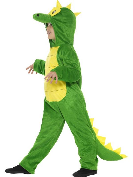 Kid's Crocodile Fancy DressCostume Thumbnail 4