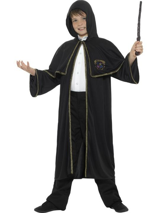 Wizard Cloak Kids Fancy Dress Costume Thumbnail 1