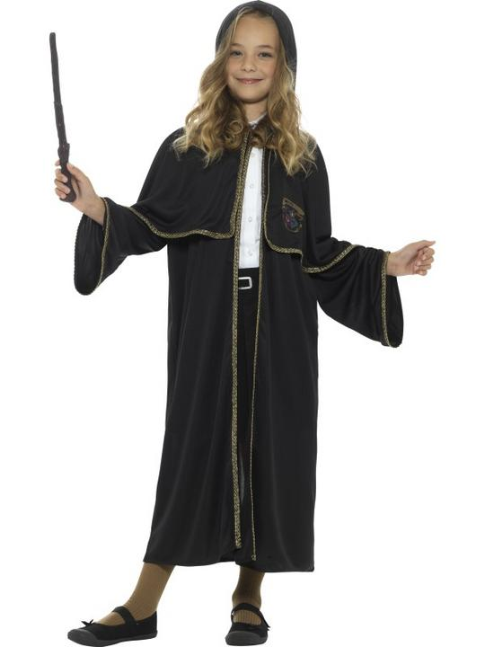 Wizard Cloak Kids Fancy Dress Costume Thumbnail 2