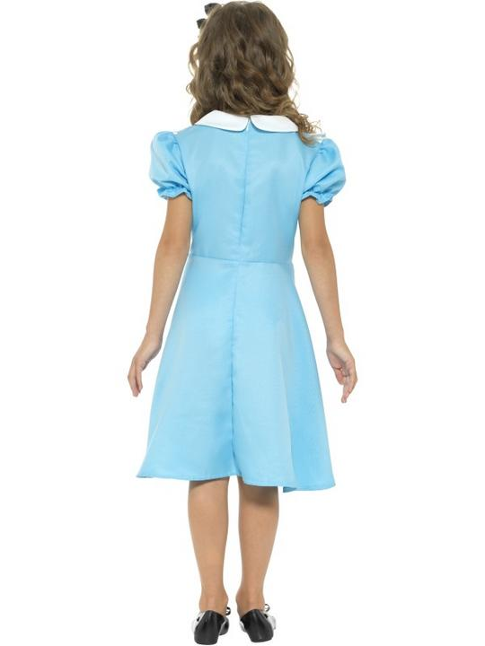 Girls wonderland costume kids school book week fancy dress alice childs outfit Thumbnail 2
