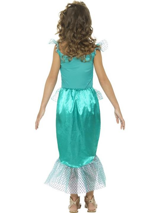 Deluxe Mermaid Girl's Fancy Dress Costume Thumbnail 2