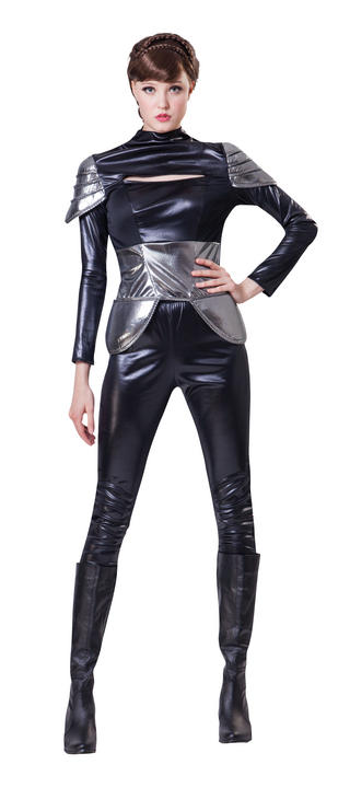 Women's Spy Fancy Dress Costume Thumbnail 1
