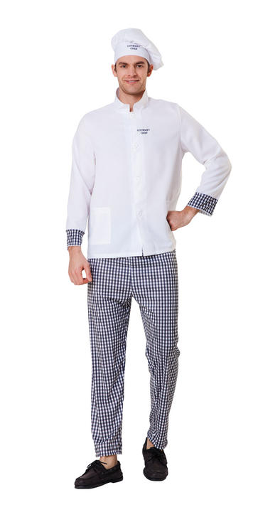 Men's Master Chef Fancy Dress Costume Thumbnail 1