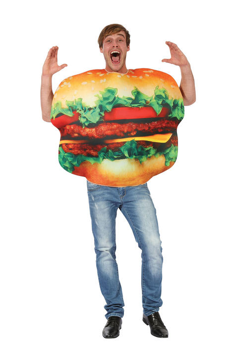 Burger Fancy Dress Costume Thumbnail 1