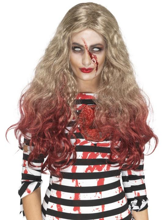 Deluxe Zombie Blood Drip Wig Thumbnail 1